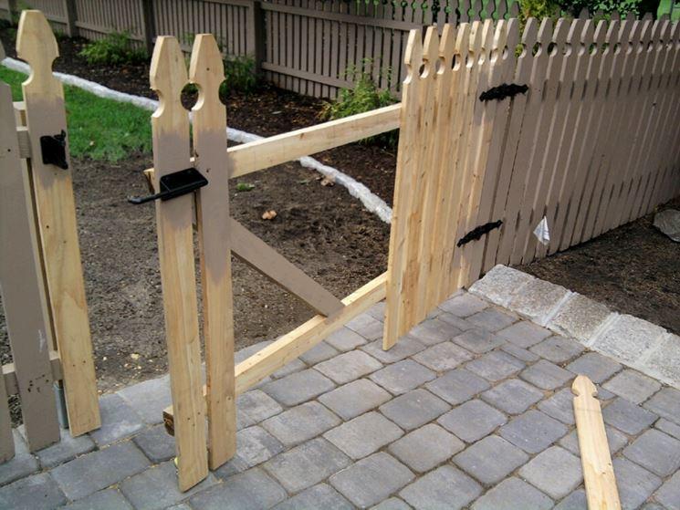 costruire un cancelletto di legno