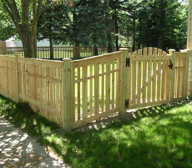 come fare un cancelletto in legno recinzioni costruire