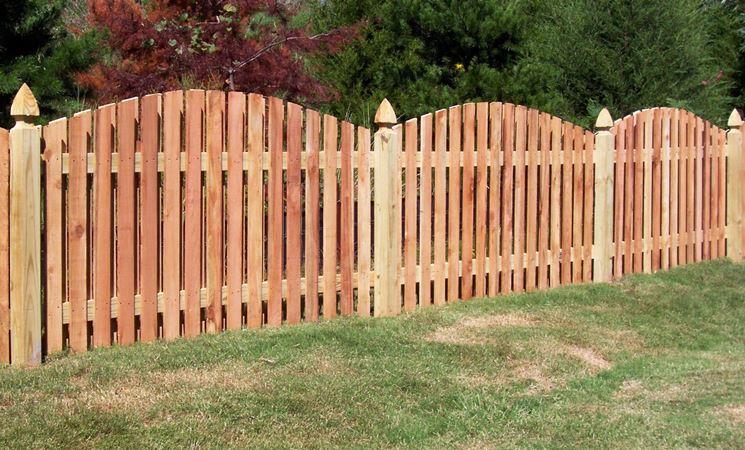 recinto giardino in legno