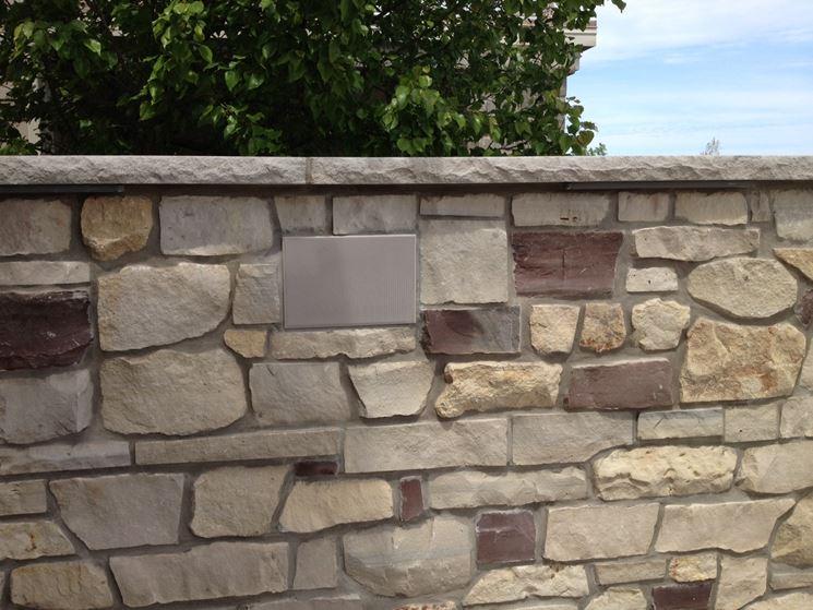 muretti da esterno schemi di posa dei mattoni