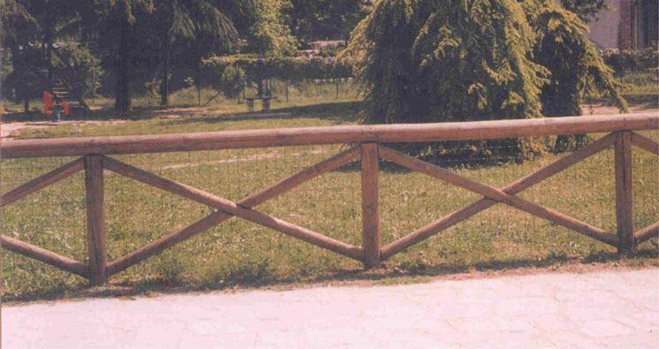 staccionate in legno fai da te recinzioni