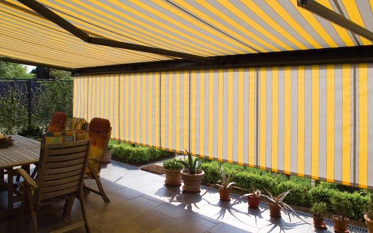 Esempio tenda sole