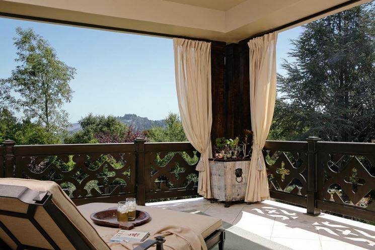 Tenda da sole per balconi tende da sole tende per balconi for Tenda terrazzo