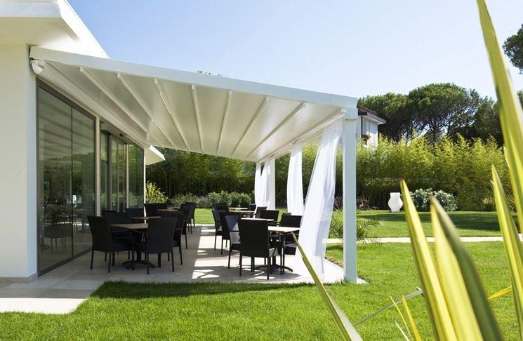 Tenda parasole tende da sole tende protezione sole - Ikea tende da giardino ...