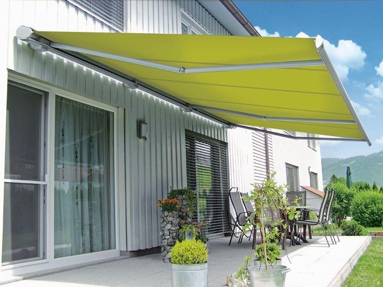 Tende balcone tende da sole modelli e caratteristiche - Tende da sole per giardino ...
