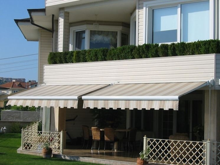 Tende da balcone tende da sole modelli e tipologie di - Tende da sole per giardino ...