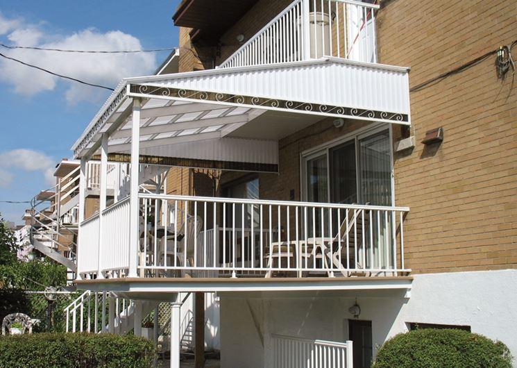 Tende da sole per pannelli solari foto tenda da sole per balconi