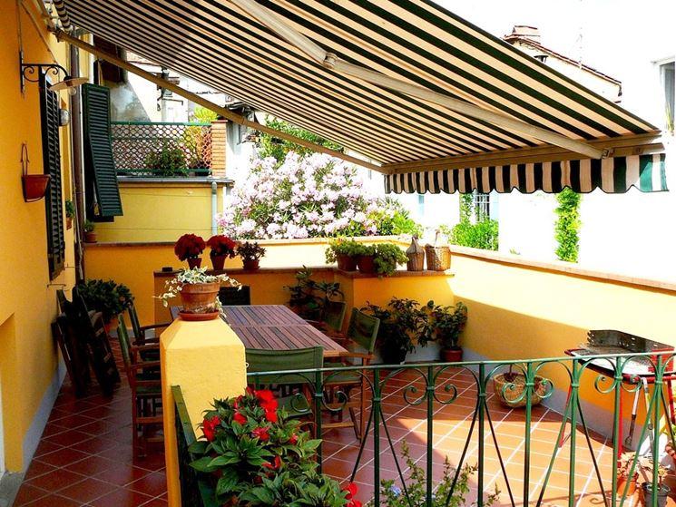 Tenda per balcone o terrazzino