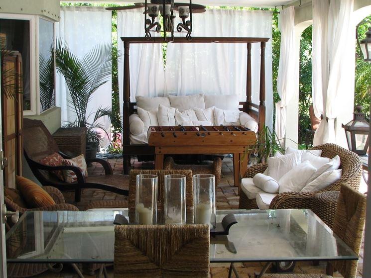 Tende esterno tende da sole tende per ambiente esterno - Ikea tende da giardino ...