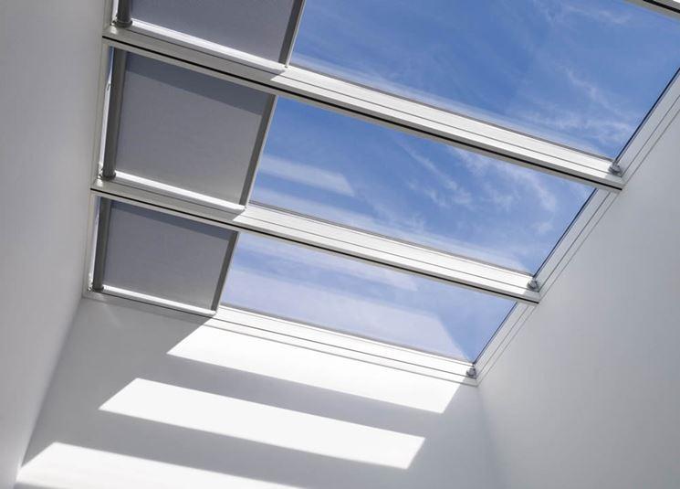 Tende per velux tende da sole modelli tende for Oscuranti per finestre velux
