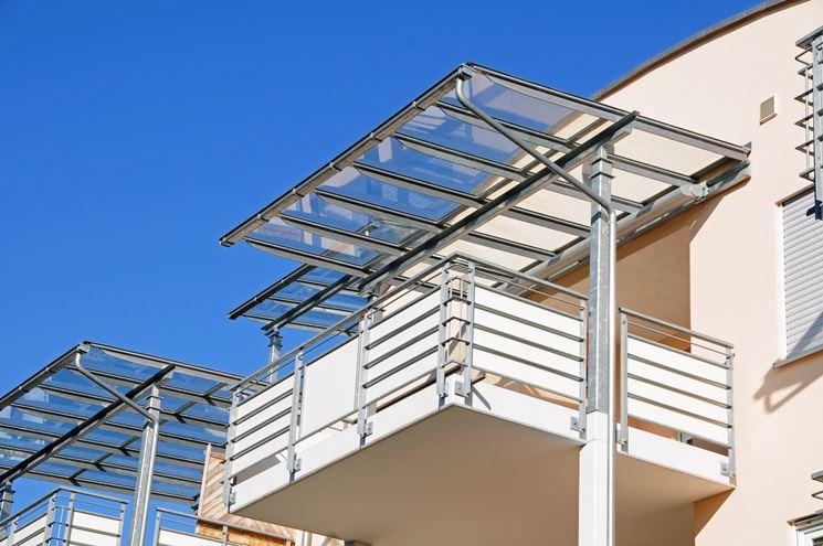 Tettoie balconi