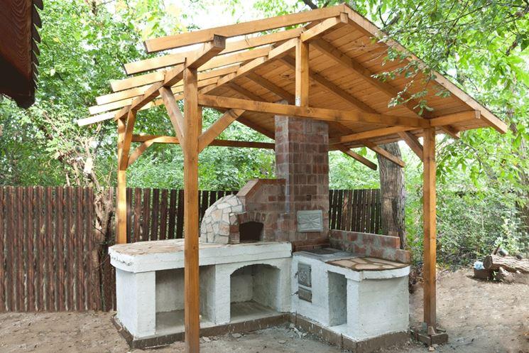 tettoia fai da te - tettoie e pensiline - realizzare tettoia