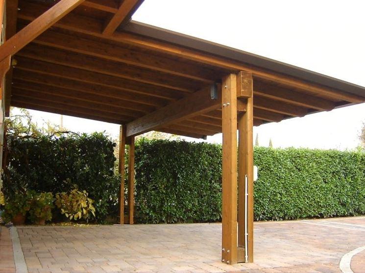 Tettoie legno tettoie e pensiline caratteristiche - Tettoie in legno per esterno ...