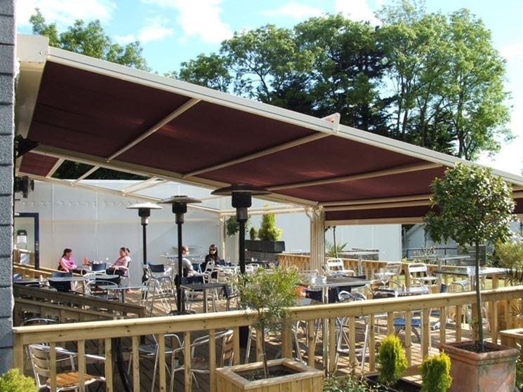 Tettoie per esterni tettoie e pensiline i modelli di for Arredo terrazzi