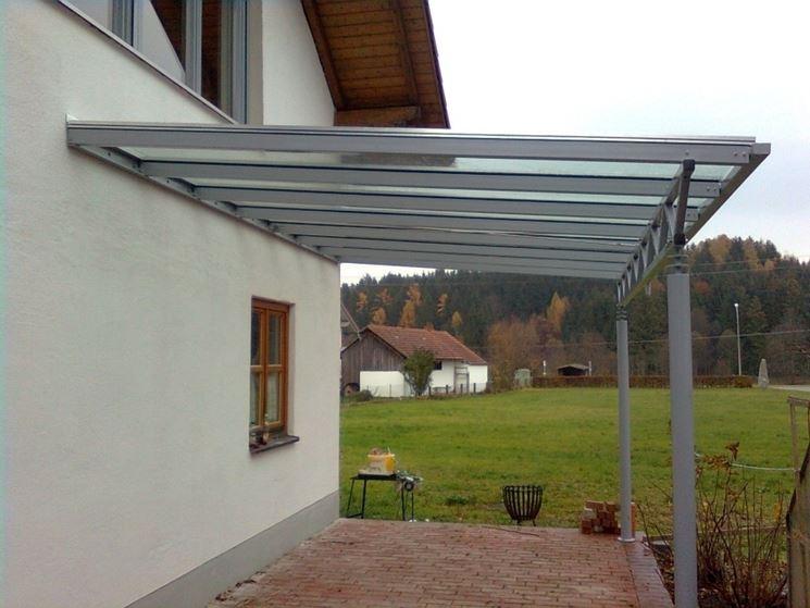 le tettoie per giardino