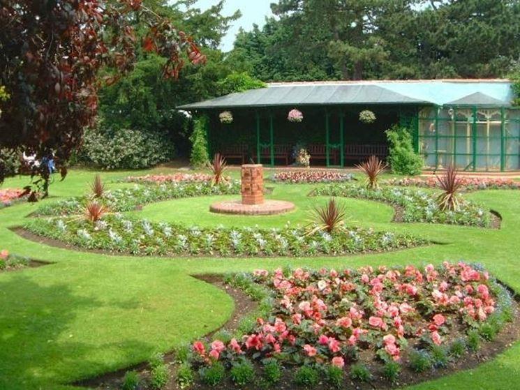 Aiuole in giardino idea creativa della casa e dell for Software di progettazione della pianta della casa