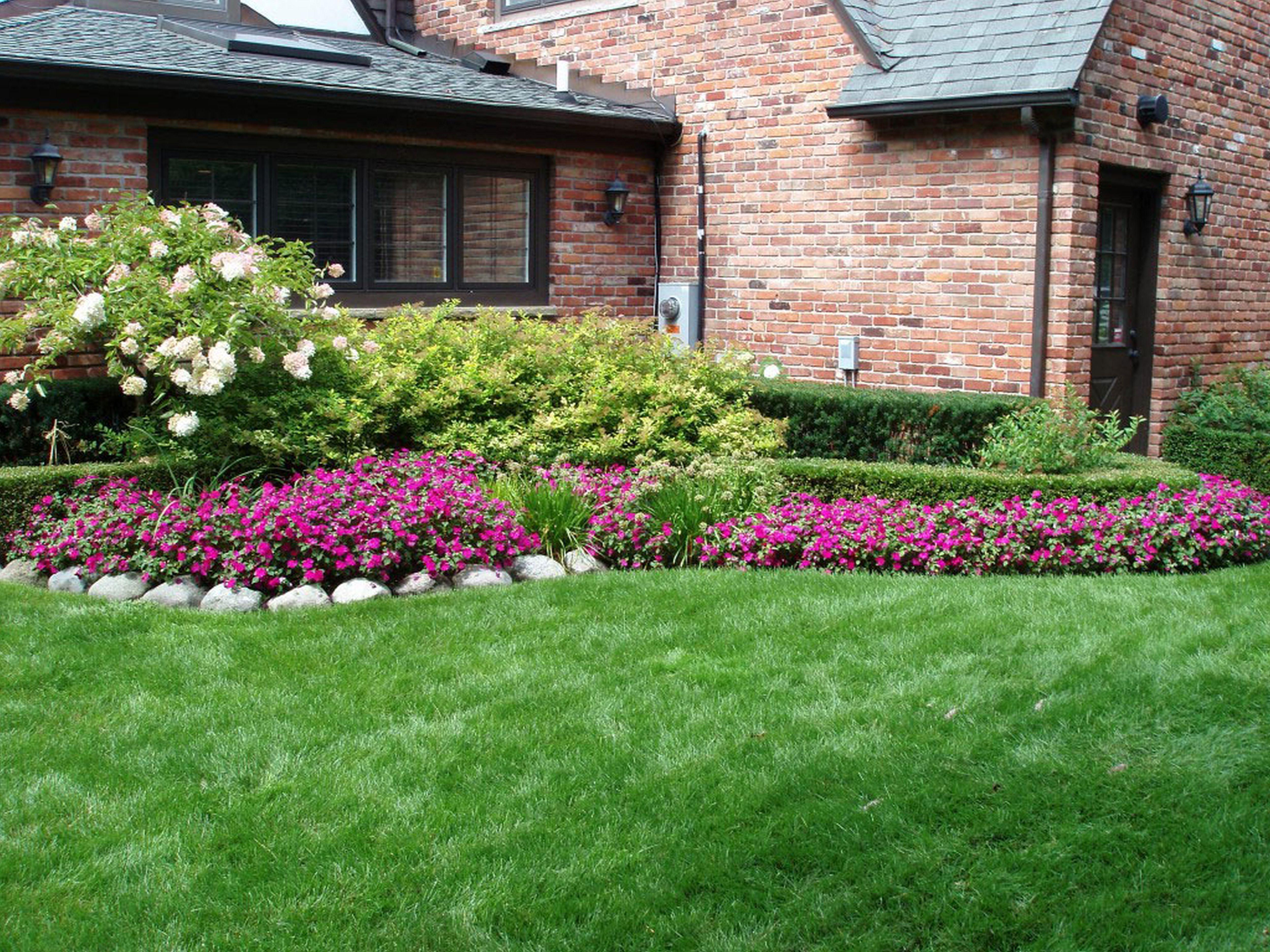 Fiori Da Giardino Roccioso aiuole in pietra - tipi di giardini - realizzare aiuole in