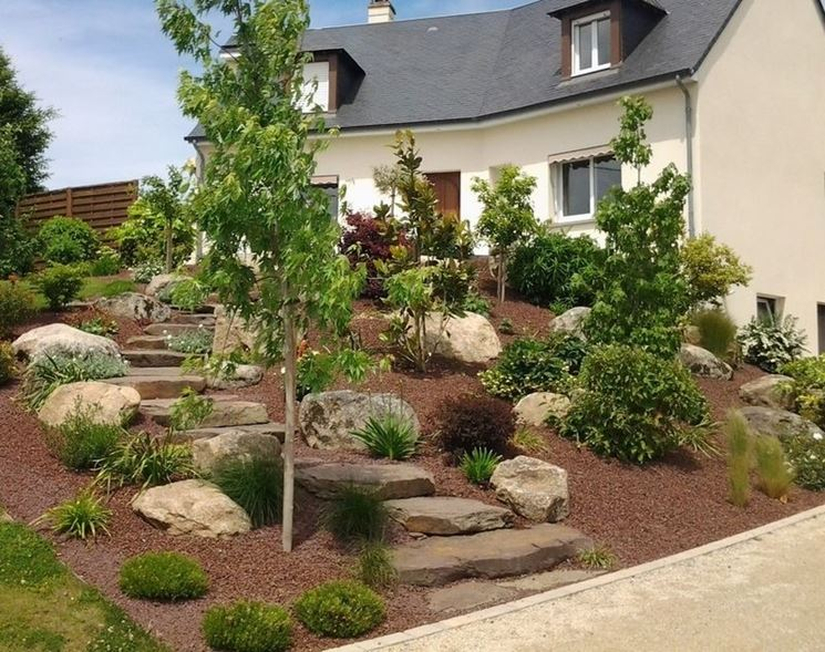 giardino roccioso tipi di giardini realizzare giardini rocciosi. Black Bedroom Furniture Sets. Home Design Ideas