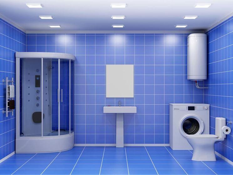 Collocazione boiler bagno