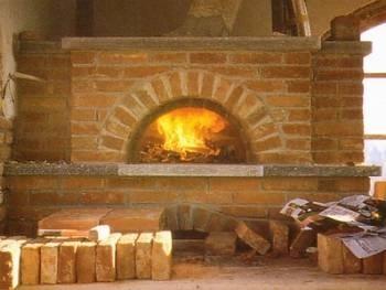 Mattoni refrattari per camino caminetti for Forno a legna in mattoni refrattari