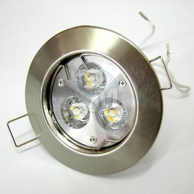 collegamento faretti led illuminazione