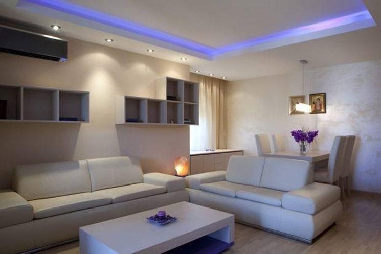 Idee illuminazione casa moderna happycinzia