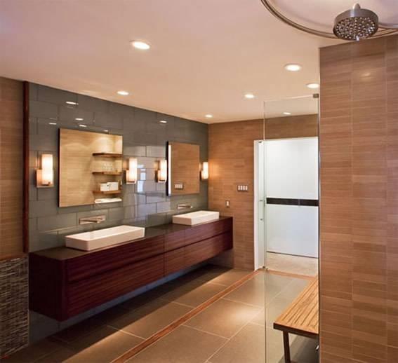 illuminare il bagno  illuminazione, Disegni interni