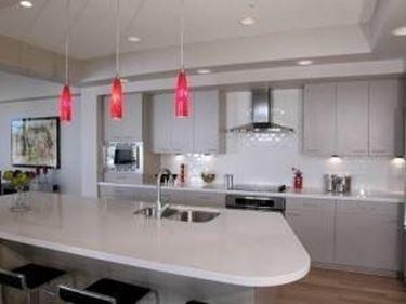 cucina illuminata