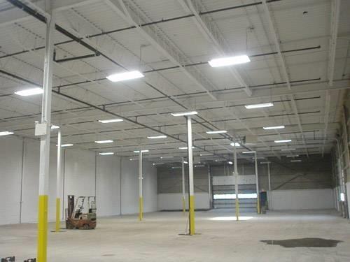 Illuminazione capannone industriale powrgard