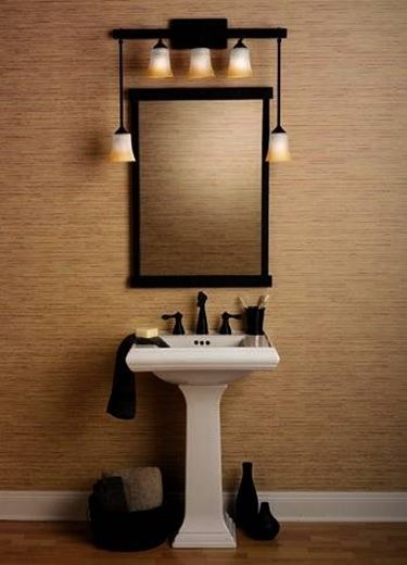illuminazione nel bagno
