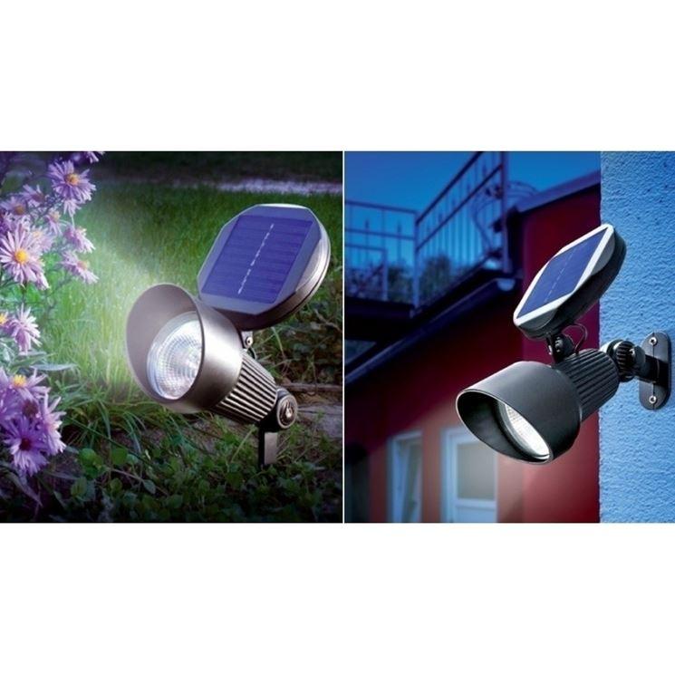 lampada solare con interruttore crepuscolare