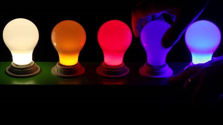 lampadine colorate - Illuminazione