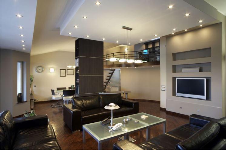 esempio di illuminazione appartamento