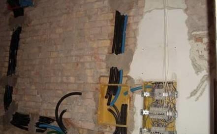 Impianto elettrico esterno impianti elettrici - Rifacimento bagno manutenzione ordinaria o straordinaria ...