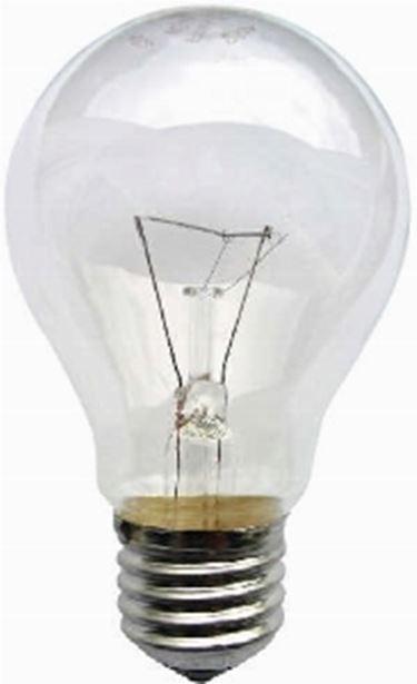 lampadina trasparente