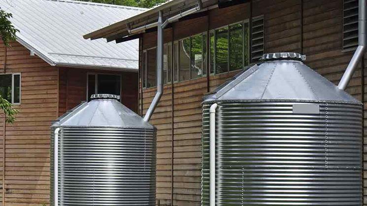 Cisterne per acqua in alluminio