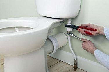 montaggio wc