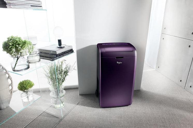 climatizzatore portatile moderno
