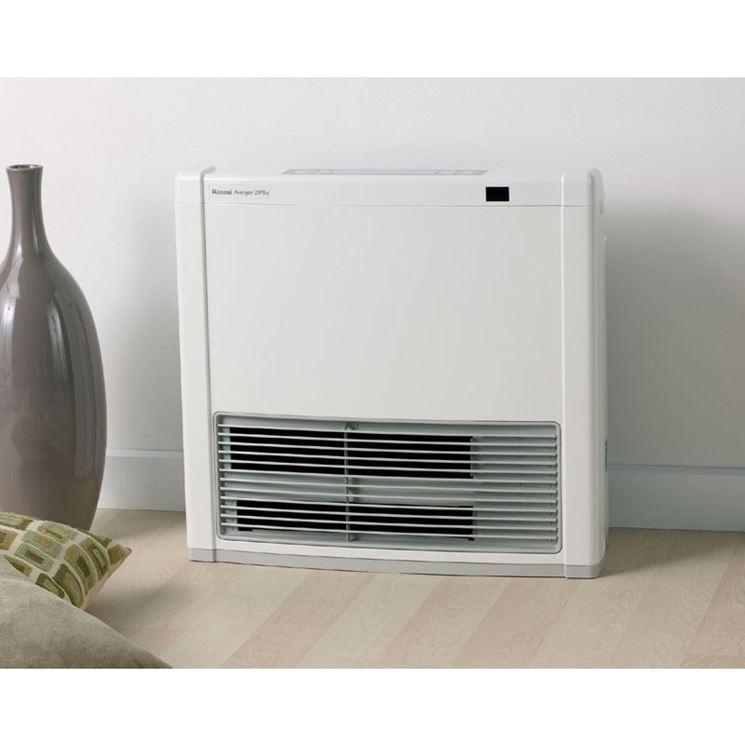 radiatore ventilato a gas