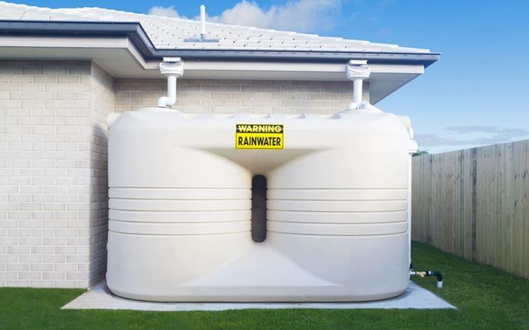 Recupero acqua piovana - Impianti Idraulici - Vasca riciclo acqua