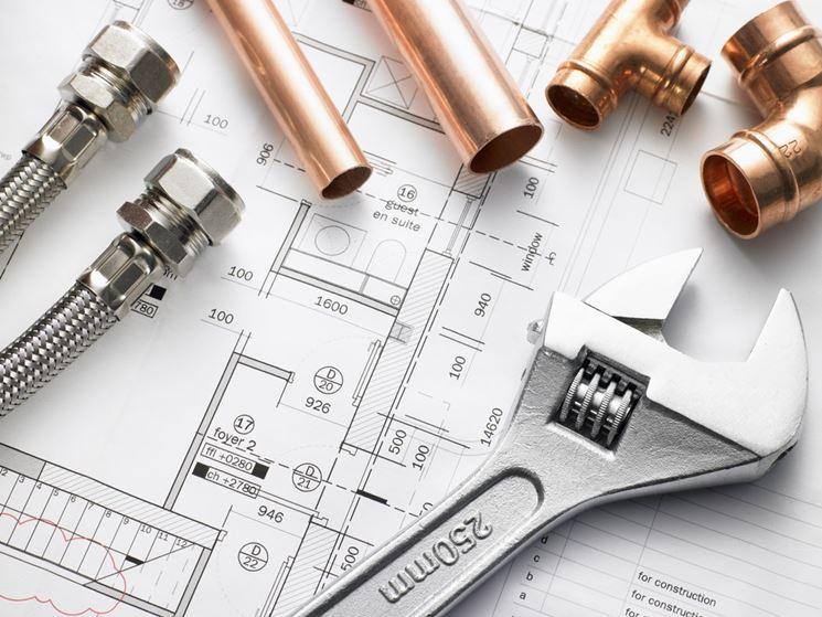 sistemare impianto idraulico