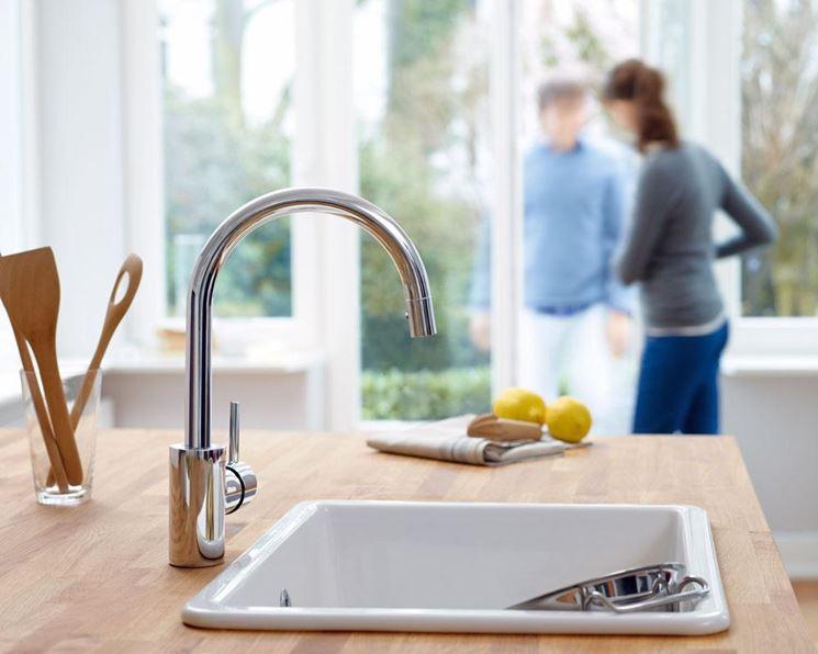rubinetto con riduttore di flusso