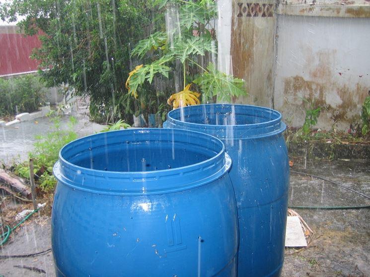 Serbatoio Acqua Piovana Impianti Idraulici Raccolta Acque