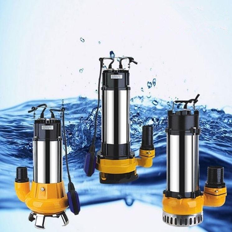 Schema Elettrico Pompa Sommersa Pozzo : Pompa a immersione pompe come funziona la pompa a immersione per
