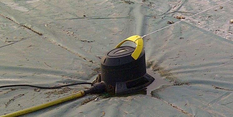 Pompa svuotare piscina