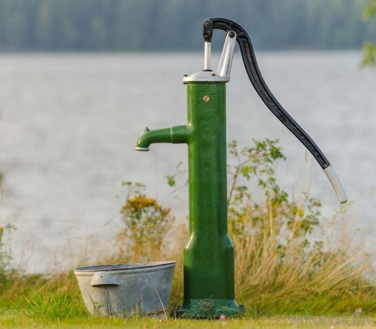 modello di pompa per l'acqua
