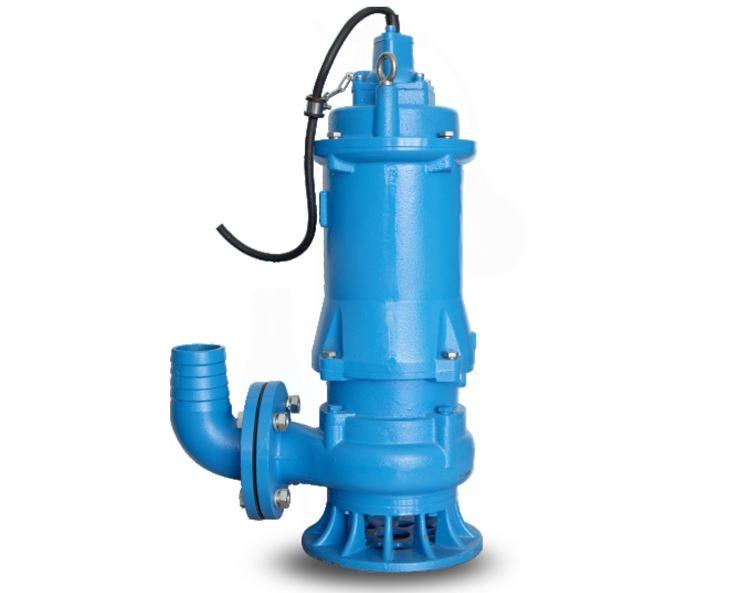 Pompa ad immersione blu