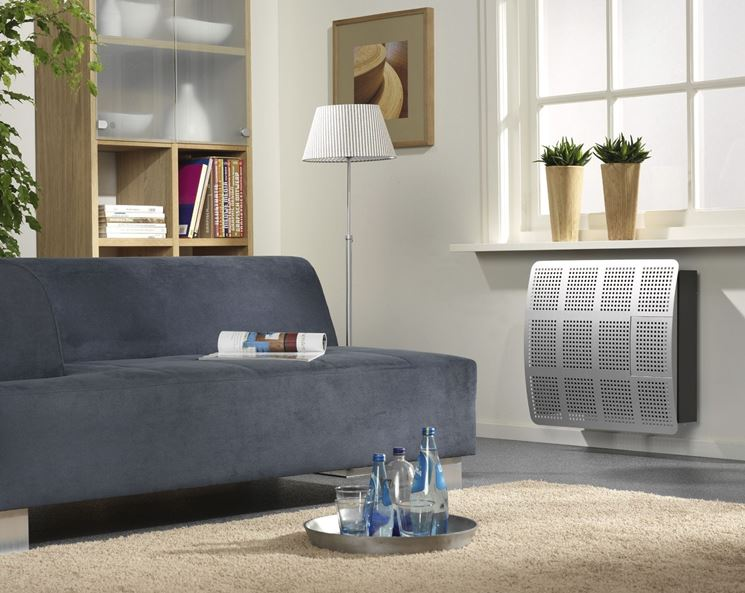 radiatore a gas moderno