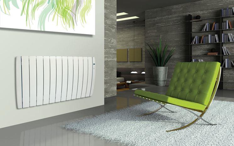 termosifone elettrico a parete