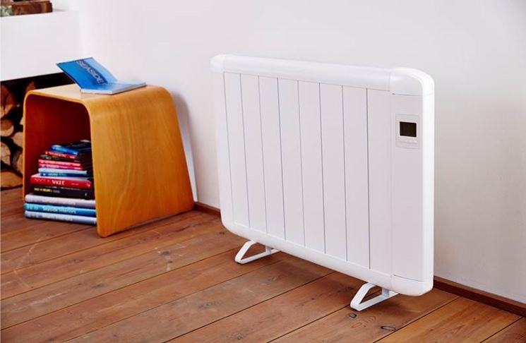 radiatore elettrico trasportabile